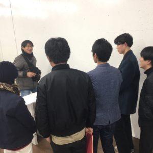 2017年12月19日 九州産業大学の学生さんとの打ち合わせ