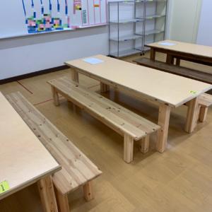 2019年6月26日 学童保育所テーブル補修